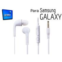 Audífonos Samsung Galaxy S2 S3 S4 S5 Mini Note 1 2 3 4 Tab
