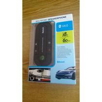 Manos Libres Bluetooth Car Kit Altavoz Multipoint