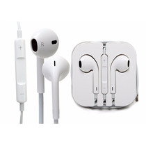 10 Audifonos Manos Libres Earpod Estuche Iphone Ipod Ipad