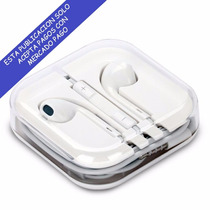 Audifonos Earpods Manos Libres Iphone 5s 5c 5 4s 4 6 6 Plus