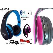 Diadema Bluetooth Mp3 Microfono Fm Link Bits Ab-004