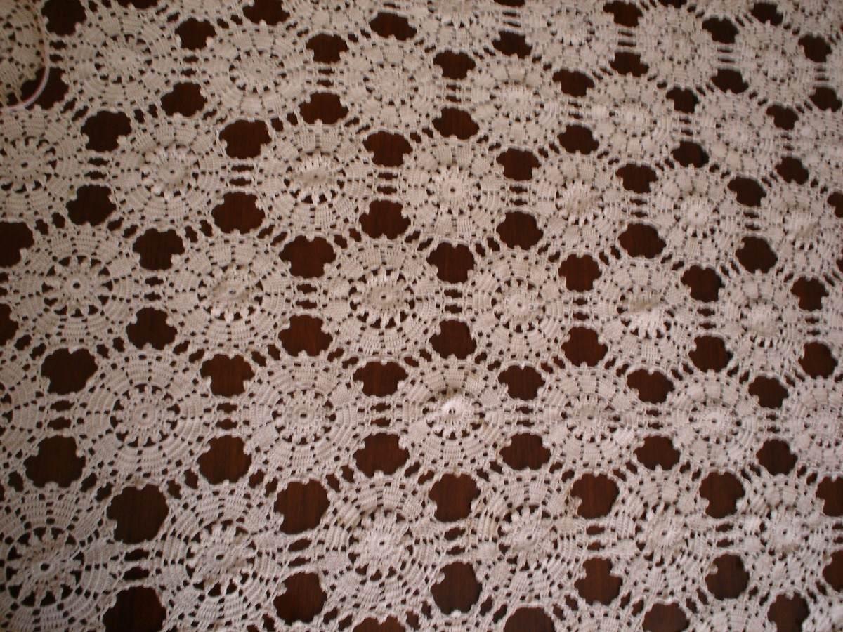 Manteles rectangulares tejidos al crochet imagui - Mantel de crochet ...