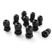 Pg7 Negro Plástico Impermeable Prensaestopas Articulaciones