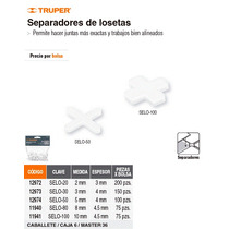 Separadores De Losetas 10 Mm