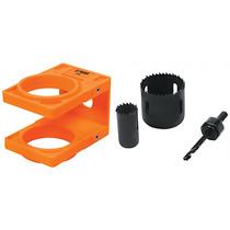 Kit Para Instalar Cerraduras De 4 Piezas Y Plantilla