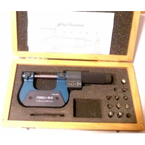 Juego Micrometros Digitales Universales 0-2 Mitutoyo Starret