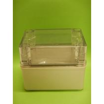 065 Caja Plástica Tapa Transparente 80x11x85 Mm Marca Tibox