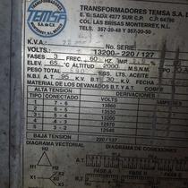 Transformador Poste 75kva,trifasico.13000/220-127.