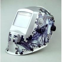 Careta Electronica Modelo Matrix Fotosencible