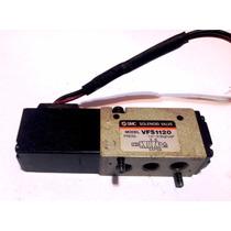 Electrovalvula 24 V Smc 5/2 Control De Piston Doble Efecto