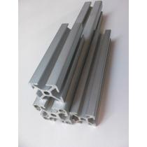 Perfil De Aluminio 30x30 Ranura 8mm Tipo Bosch Metro Lineal