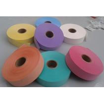 Etiquetas En Rollo Para Tintoreria Lavanderia Varios Colores