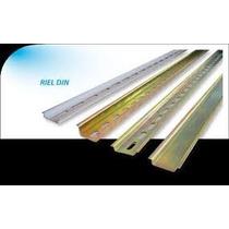 Riel Din Omega Perforado De 35 X 75 Mm