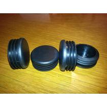 Tapón Redondo 1.5 De Plástico Para Tubo/tubular Redondo