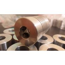 Acoplador Flexible Aluminio 8 A 8mm Cnc Reprap