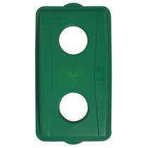 Cubierta Reciclar Botellas Y Latas Polipropileno Verde 21-1/