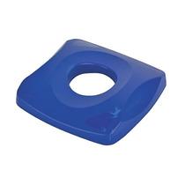 Cubierta Para Reciclar Botellas Y Latas Plástico Azul 16