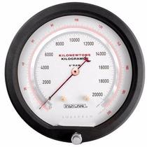 Manómetro Instrutek Para Prensas Hidráulicas