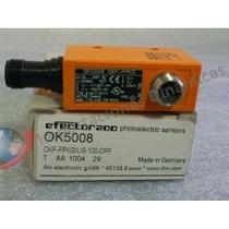 Ifm Sensor Fotoeléctrico Ok5008, Okf-fpkg/us-100-dpf