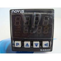 Controlador De Temperatura Novus N480d-rp
