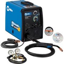 Maquina Para Soldar Millermatic 211 Para 110 Y 220 Volts.