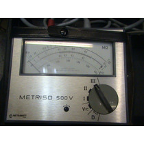 Medidor De Aislamiento Metriso 500 Analogo