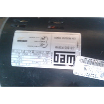 Motor Weg 1/3 Hp Para Cooler Aire Lavado 2 Velocidades