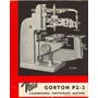 Pantografo 3d Gorton P2-3 Oferta Excelente Estado