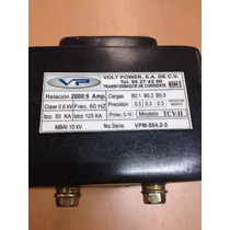 Transformador De Corriente, Volt Power, Modelo Tcv-2 2000amp