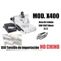 Cnc Mini Router Desktop X400