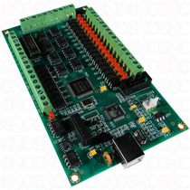 Interface Cnc Usb Mach3, 4 Ejes Ideal Plasma, Router, Laser