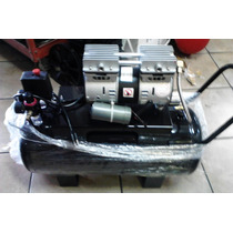 Compresor Para Aire Silencioso Libre De Aceite De 1 Hp. 50 L