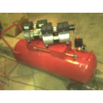 Compresor Rogers 2 Hp. 120 L. 4 Pistones Libre De Aceite