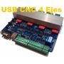Cnc Usb Controlador Cnc Usb 4ejes Router Motor A Pasos Usb