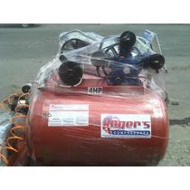 Compresor Roger´s 4 Hp.tanque De 300 Lts 110\220 Volts