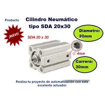 Mini Pistón Cilindro Neumático Sda 20x30 Siemens Festo Smc
