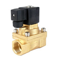 Valvula Solenoide 2/2 Para Gas 1/4 5mm Orificio