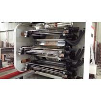 Impresora Flexografica De Tambor Central 6 Colores 1 M Ancho