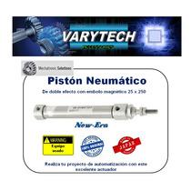 Piston Neumatico Usado Plc Smc Mecatronica Festo Neumatica