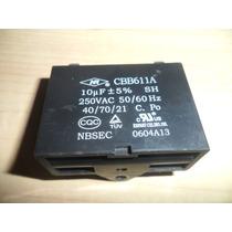 Capacitor Cbb611a 10uf 250v
