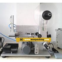 Etiquetadora De Botella Plana Semiautomatica Con Codificador
