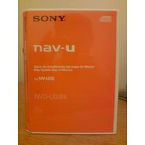 Disco Actualizacion Sony Nav-u 50