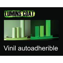Vinyl Autoadherible Fotoluminscente Brilla Hasta12 Horas Maa