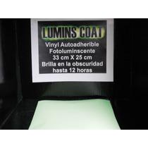 Vinyl Autoadherible Fotoluminscente Brilla Hasta 12horas Mma