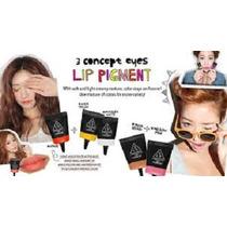 #3 En 1 Maquillaje Pigmento Sombras Labial Rubor Blush