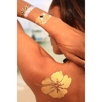 Flash Tattoos Tatuajes Temporales Metálicos
