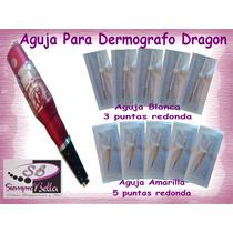 50 Agujas Para Dermografo Dragon- Delineado Permanente