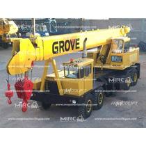 Grúa Grove Tm550 1974 En Perfectas Condiciones De Operación