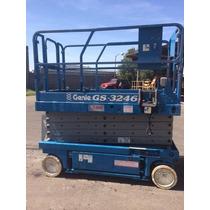 Plataforma De Elevación Tipo Tijera Manlift Genie Gs3246
