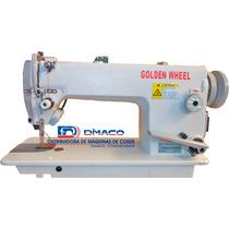 Máquina Plana Cs-5150l-bft Marca Golden Wheel